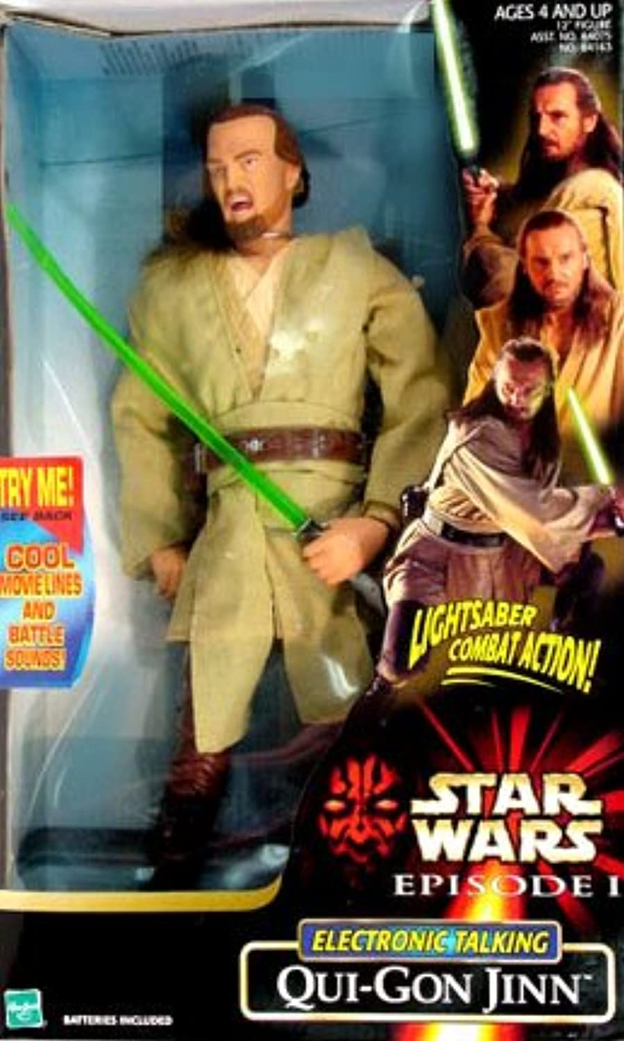 diseños exclusivos Estrella Wars Wars Wars Episode 1 Electronic Talking Figura Qui-Gon Jinn (japan import)  barato y de moda