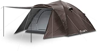 FIELDOOR ワンタッチテント300 大型 4~6人用 ドームテント キャンプテント 紐を引くだけの簡単設営 UVカット 耐水 シルバーコーティング キャノピー 簡単