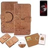 K-S-Trade 360° Cover cork Case for Sharp Aquos B10 |