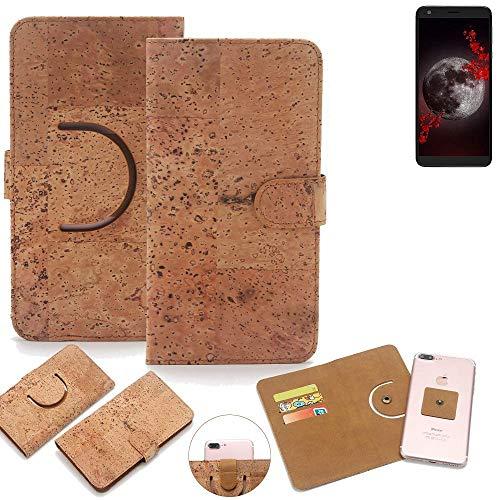 K-S-Trade® Handy Schutz Hülle Für Sharp Aquos B10 Korkhülle 1x