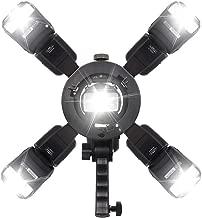 S-Type Bracket Bowens Mount Holder for Speedlite Softbox Photography Umbrella(Not Contain Flash Speedlite)