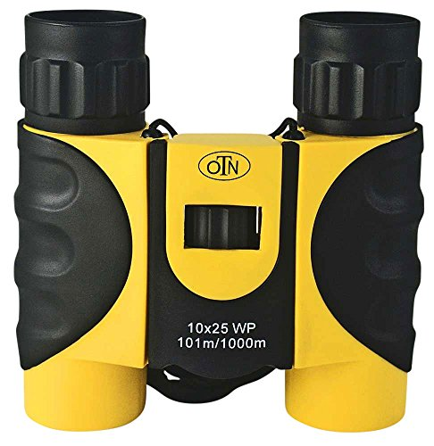 OutNowTech Compact Waterproof Binoculars for Adults and Kids - 10x25 BAK4 Roof Prisms - Ideal for...