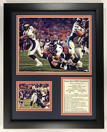 Jay Cutler Denver Broncos NFL Double Matted 8x10 Photograph Collage