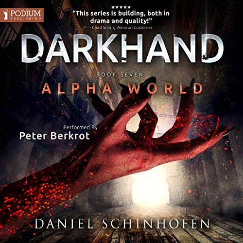 Darkhand audiobook cover art