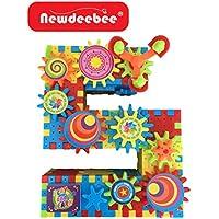 Newdeebee 3D Interlocking Learning Gear Building Toy Set