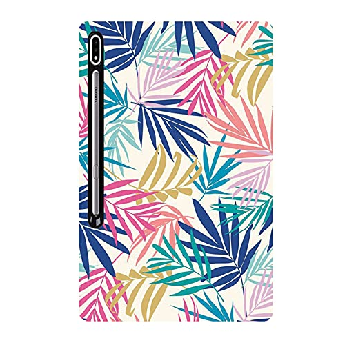 Videotronix Printed Rubber Soft Silicon Back Cover forSamsung Galaxy Tab S7 FE (SM-T730 SM-T736B) (12.4 inch)