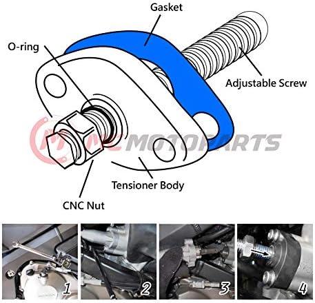 MC MOTOPARTS CNC HP Manual Cam Chain Tensioner For ATV Yamaha YFM ...