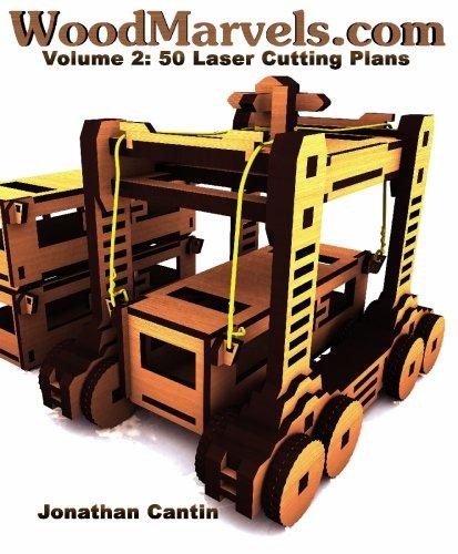 WoodMarvels.com, Volume 2: Laser Cutting Plans