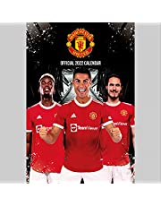 The Official Manchester United Calendar 2022 (The Official Manchester United FC A3 Calendar 2022)
