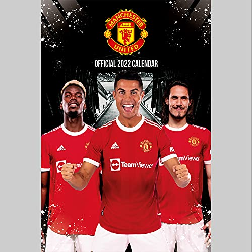 Official Manchester United Football Club 2022 Calendar - Month To View A3 Wall Calendar (The Official Manchester United FC A3 Calendar 2022)