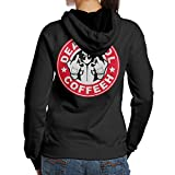SBLPT Deadpool Coffee Sport Women's Hoodie M Black