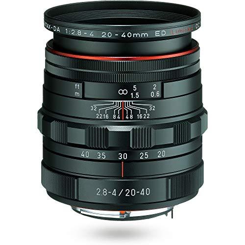 Pentax 20-40 mm/F 2,8-4,0 HD DA ED Limited DC WR 20 mm Objektiv.