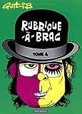 Rubrique-à-Brac - Tome 4 - Rubrique-à-Brac (4) de Gotlib (27 octobre 2003) Album - 27/10/2003