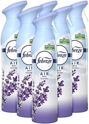 Febreze 300 ml Lavender Air Freshener Spray Pack of 6 product image