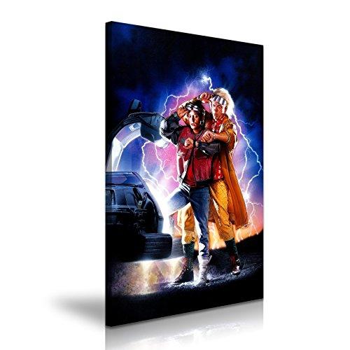 Regreso al futuro II Póster de la película lienzo pared Art imagen impresión 50x 76cm