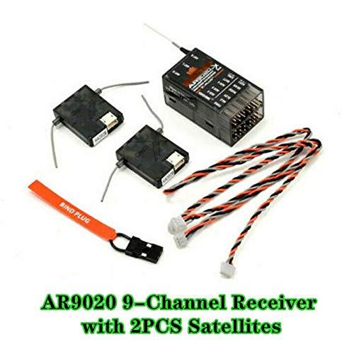 Spektrum AR9020 2,4 GHz 9CH Empfänger mit erweiterter Satellitenunterstützung DSM2 DSMX XPlus Für JR DX7s DX8 DX10t X9303 X9503 Sender RC Drohnenfernbedienung