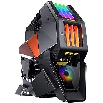 COUGAR ゲーミングPCケース CONQUER 2 組み立て式ケース 金属フレーム サブシャーシ設計 RGB照明 【国内正規品】