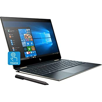 "2019_HP 2-in-1 Spectre x360 13.3"" FHD Touchscreen Laptop,360° flip-and-fold, Intel i7-8565U CPU,16GB RAM,512GB SSD, Webcam, Backlit Keyboard, Fingerprint Reader, Thunderbolt, Window 10 (Pen Included)"