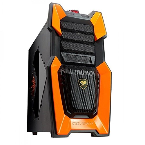 Cougar Challenger Midi-Tower orange PC Gehäuse