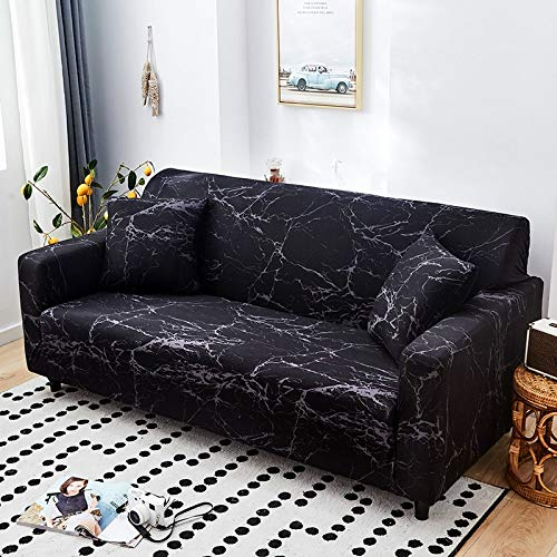 Fundas de sofá elásticas geométricas Fundas de sofá elásticas para Sala de Estar Protector de Muebles sofá Toalla Funda de sofá A13 3 plazas