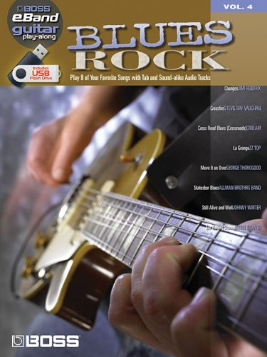 Boss Eband Guitar Play Along Vol 4 Blues Rock Book/Usb by VARIOUS (29-Nov-2010) Paperback