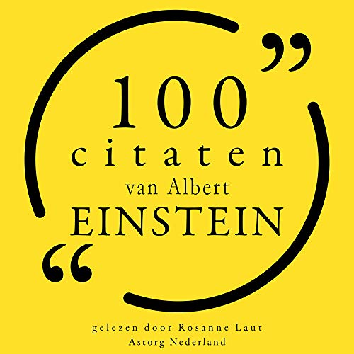 100 citaten van Albert Einstein cover art