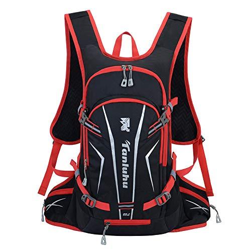 CMZ Rucksack Fahrradrucksack Herren Bergsteigertasche Fahrradrucksack Atmungsaktiver Wasserkocher Wassertasche