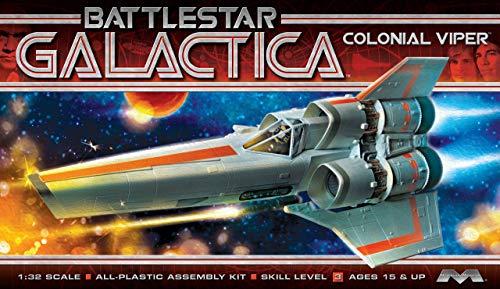 Moebius Models 10016625 Battlestar Galactica Original MKI Viper Model Kit