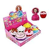 Überraschung Cupcake Puppen verwandeln Cupcake Puppe mit Überraschung duftenden großen Prinzessin...