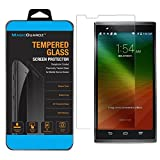 MagicGuardz, Made for ZTE ZMax Z970, Premium Real Tempered Glass Screen Protector Shield, Retail Box