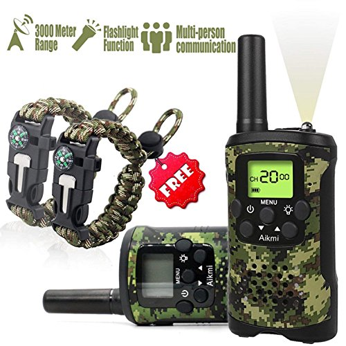 Kids Walkie Talkies Set -...
