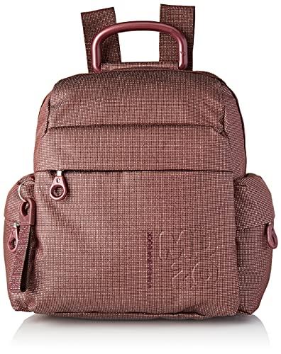 Mandarina Duck MD 20, MD20 Lux Backpack/Mahogany Pink Donna, Taglia Unica