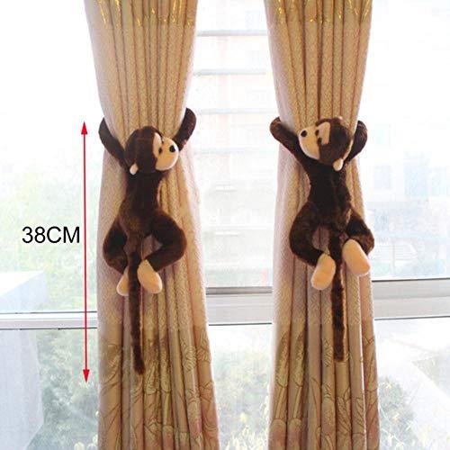 Piner gordijn stand tieback gesp haak klem cartoon rat beer aap gordijn houder haak woondecoratie gordijn accessoires, zoals afgebeeld