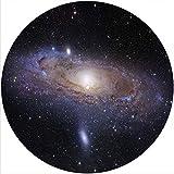 Slipmat Slip Mat Scratch Pad Felt for any 12' LP DJ Vinyl Turntable Record Player Custom Graphical - Space - Andromeda Galaxy