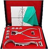 AMhuui Pro dique de Goma Kit, Kit de dique de Goma con el Marco de ponche Abrazaderas Instrumentos...