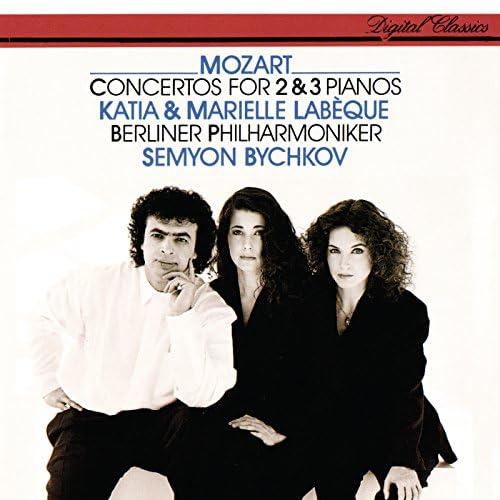 Katia Labèque, Marielle Labèque, Berliner Philharmoniker & Semyon Bychkov