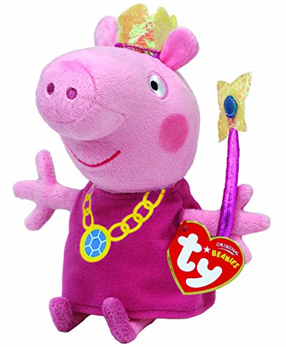 Ty Peppa Pig - Peluche Peppa Pig Vestida Hada
