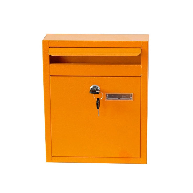 多機能メールボックス ウォールマウントされたメールボックス