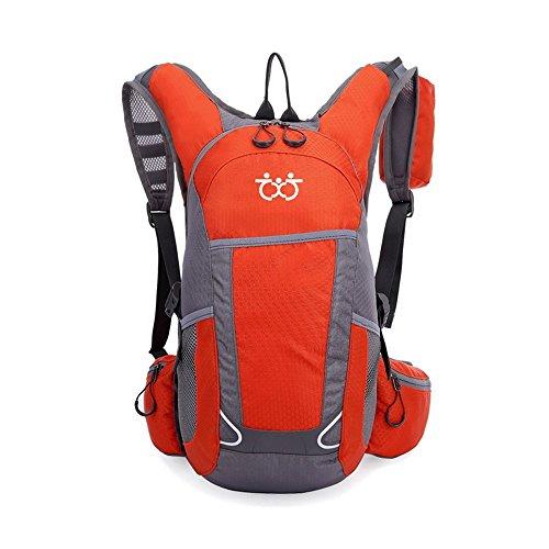 KUKOME アウトドア 登山 リュック サック 20L 防水 撥水 多機能 軽量トレッキング 自転車 旅行 ハイキング デイパック バックパック 通気性 ユニセックス