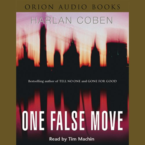 One False Move audiobook cover art