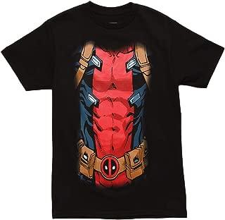Deadpool Black 30 Single Men's Costume T-Shirt