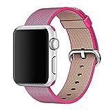 MooveTeck Bracelet Nylon HOCO Rose for Apple Watch 42mm