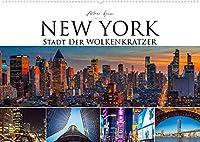 New York - Stadt der Wolkenkratzer (Wandkalender 2022 DIN A2 quer): Faszinierende Architektur einer Weltmetropole (Monatskalender, 14 Seiten )