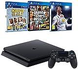 Pack PS4 + FIFA 18 + GTA V + Qui es-tu?