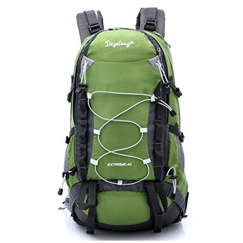 SZH&BEIB Sac à dos Randonnée grande capacité 40LWaterproof Voyage en nylon de camping activité de plein air , D