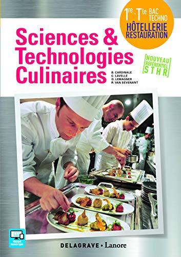 Sciences et technologies culinaires 1re, Tle STHR (2016)