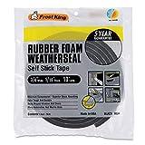 Frost King Available R534H Sponge Rubber Foam Tape 5/16-Inch, Black, 3/4' W, 5/16' T, 10 ft L