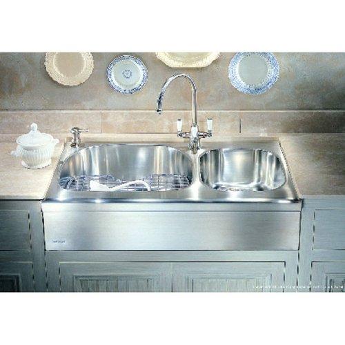 Find Bargain Franke Manor House Kitchen Sinks – 2 Bowl – MHX720