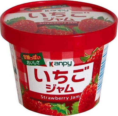 カンピー 紙カップ いちごジャム 140g×6個入×(2ケース)
