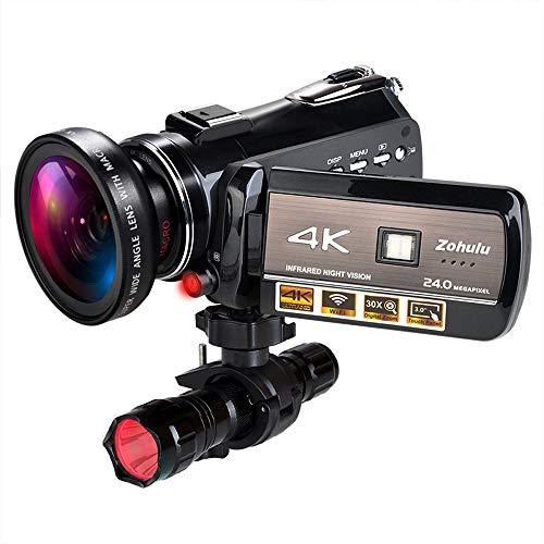 4K Wifi Full Spectrum Camcorders